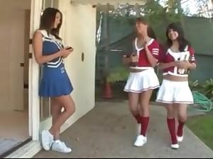 Lesbian Bachelorette Cheerleaders