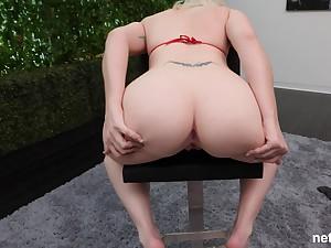 Orbit amateur blonde Brittney missionary fucked on the casting Davenport
