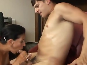 Hottest mature clip Old/Young incredible pretty twosome