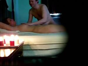 Bald Guy Massage 2 Happy Endings Hidden Camera Latina and 21 y.o.