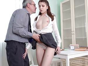 Shy looking but horny AF young lady lures dude to be analfucked knock together great