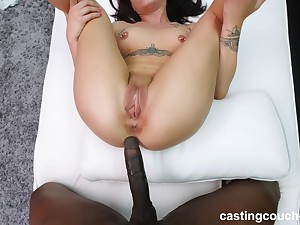 sweet together with cute Alex adores doggy style after a blowjob by make an issue of pool