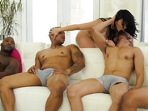 The ultimate prize of a woman engages in a steamy gangbang dealings