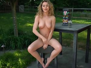 Horny porn movie Blonde crazy pretty three