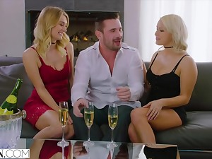 Kylie Page together with Natalia Starr trinity porn