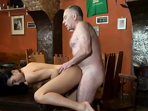 Penny step daddy together with elderly woman fuck young girls Can you